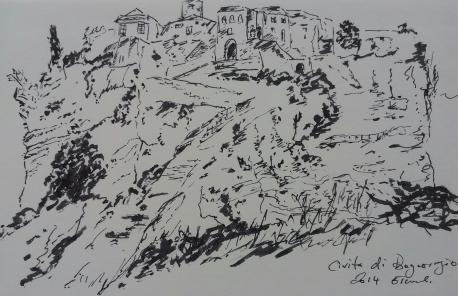 Civita di Bagnoregio, Viterbo, Umbria