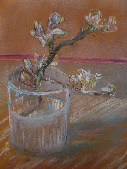After Van Gogh Flowering Almond